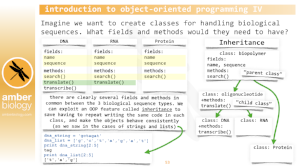 training – Python for the Life Sciences